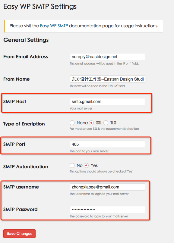 Easy-WP-SMTP-Settings