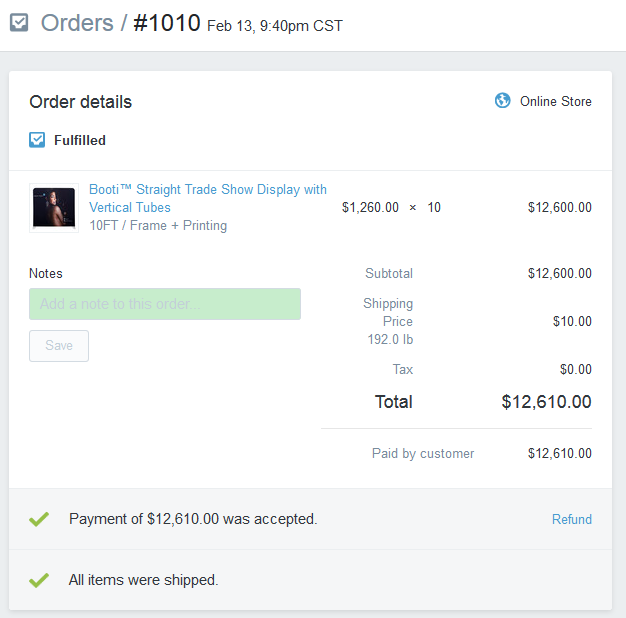 shopify how to edit order